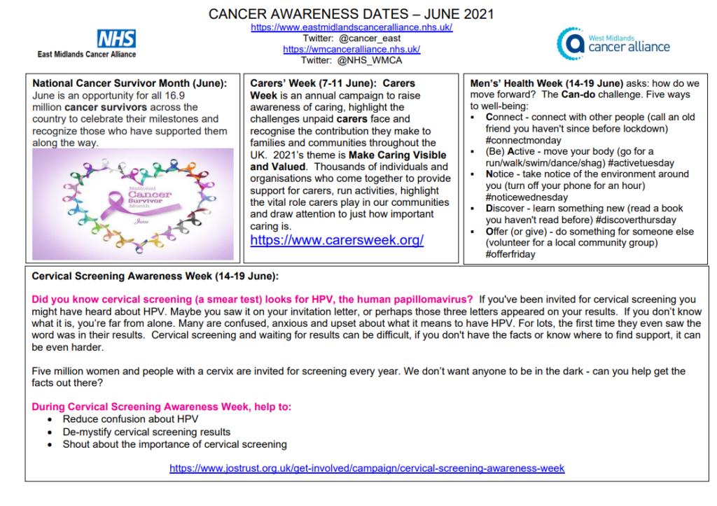 Cancer information